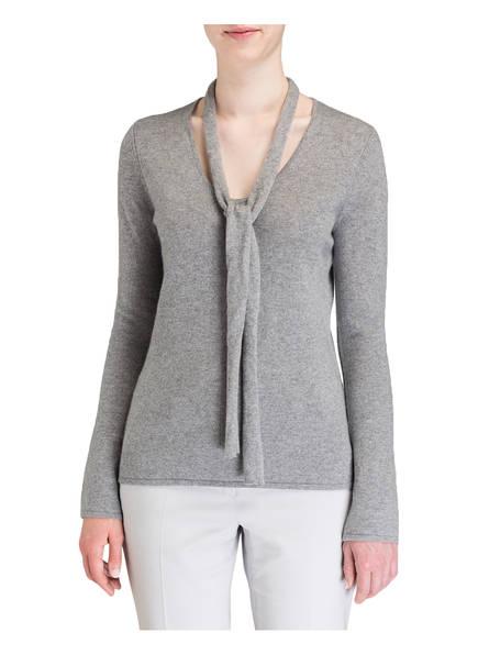 Mrs & HUGS Cashmere-Pullover mit Schal