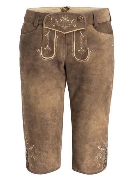 Spieth & Wensky Trachten-Lederhose, Farbe: SCHLAMM (Bild 1)