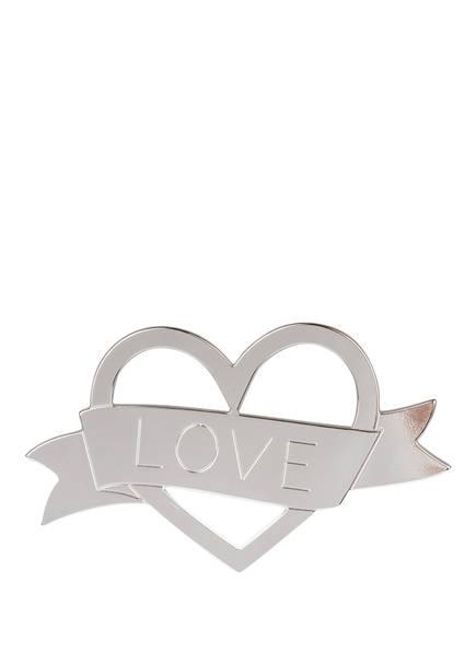 MYA BAY Brosche HEART, Farbe: SILBER (Bild 1)