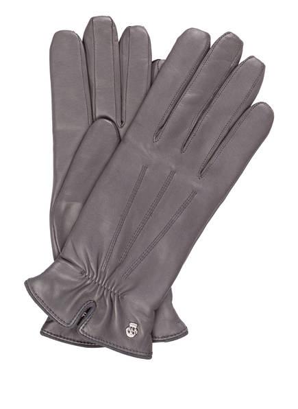 ROECKL Lederhandschuhe, Farbe: GRAU (Bild 1)