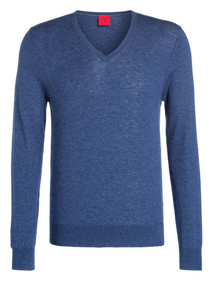 OLYMP Pullover Level Five body fit, Farbe: MARINE (Bild 1)