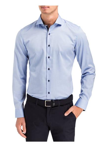 Blau Eterna Fit Slim Eterna Hemd Hemd 5fwaxXq