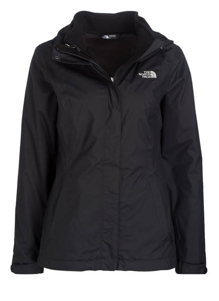 THE NORTH FACE 2-in-1-Jacke EVOLVE II TRICLIMATE, Farbe: SCHWARZ (Bild 1)