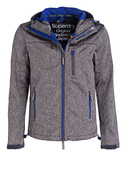 softshell kapuzenjacke windtrekker von superdry bei breuninger kaufen. Black Bedroom Furniture Sets. Home Design Ideas
