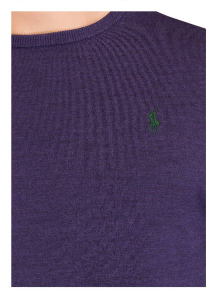 POLO RALPH LAUREN Schurwoll-Pullover Slim-Fit