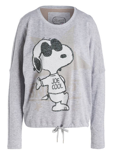 princess goes hollywood snoopy princess goes hollywood snoopy light grey cashmere sweater with. Black Bedroom Furniture Sets. Home Design Ideas