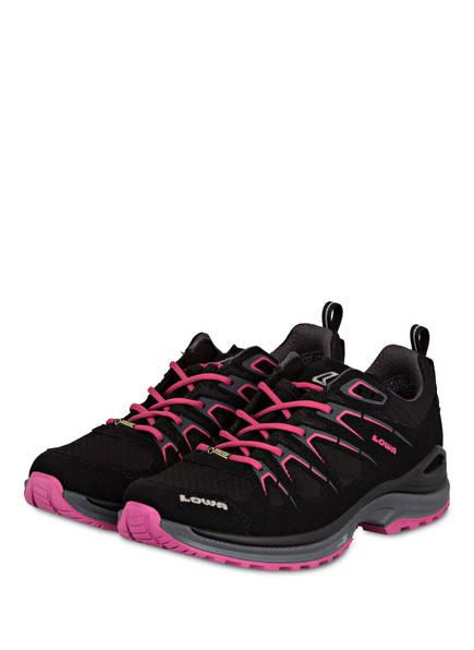 LOWA Outdoor-Schuhe INNOX EVO GTX, Farbe: SCHWARZ/ BEERENROT (Bild 1)