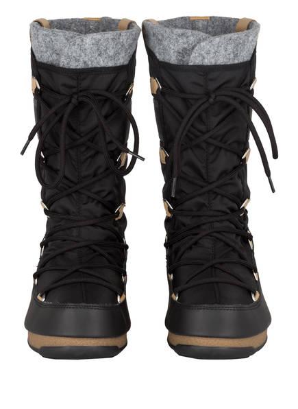 Schwarz Boot Monaco Boots Moon Felt 087Awq