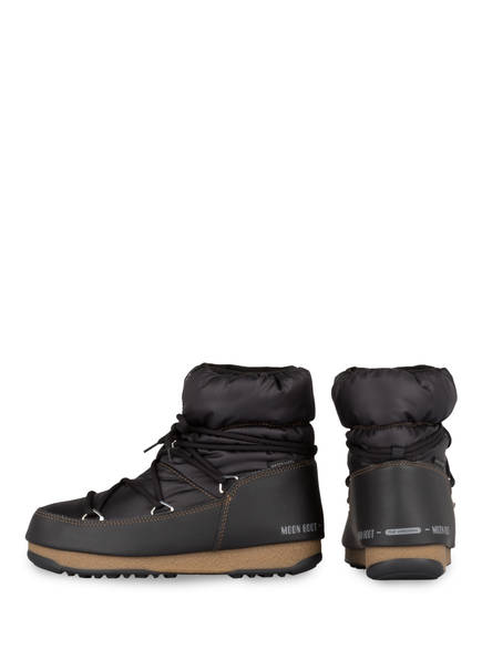 Moon Nylon Boot Moon Boots Boots Nylon Schwarz Schwarz Moon Boot BwUqdU