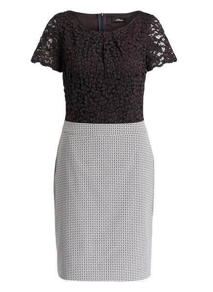 08ce35699a74 Kleid mit Spitzenbesatz von s.Oliver BLACK LABEL bei Breuninger kaufen