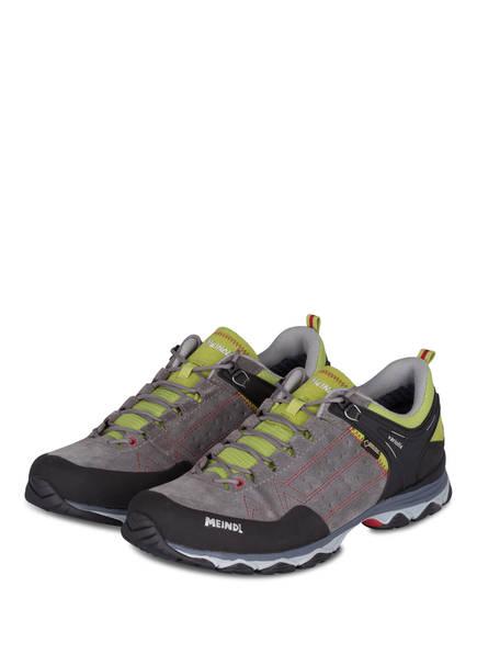 MEINDL Outdoor-Schuhe ONTARIO GTX, Farbe: GRAU/ SCHWARZ/ GRÜN (Bild 1)