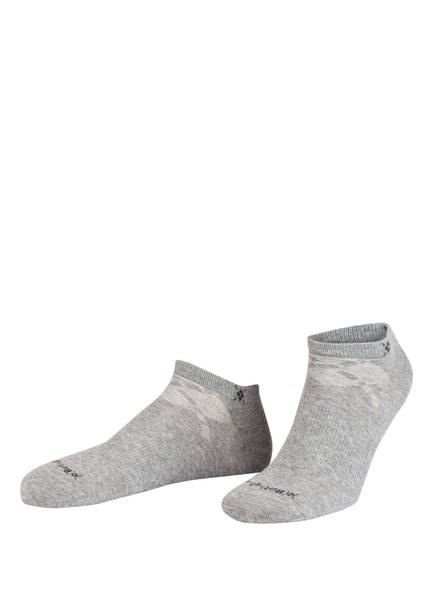Burlington 2er-Pack Sneakersocken EVERYDAY, Farbe: HELLGRAU (Bild 1)