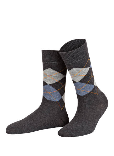 Burlington 2er-Pack Socken EVERYDAY MIX, Farbe: 3081 ANTHRA.MEL (Bild 1)