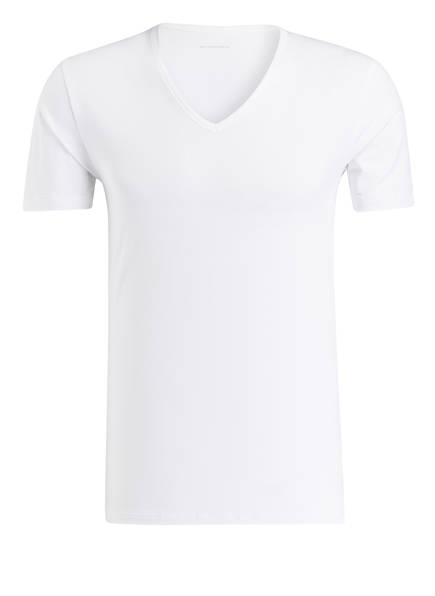 mey V-Shirt Serie DRY COTTON, Farbe: WEISS (Bild 1)