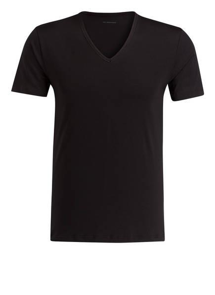 mey V-Shirt DRY COTTON, Farbe: SCHWARZ (Bild 1)