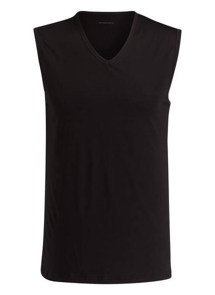 mey Unterhemd Serie DRY COTTON, Farbe: SCHWARZ (Bild 1)