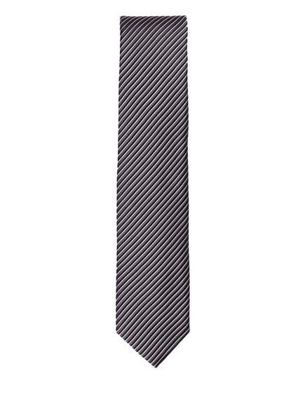 OLYMP Krawatte , Farbe: ANTHRAZIT/ SCHWARZ GESTREIFT (Bild 1)