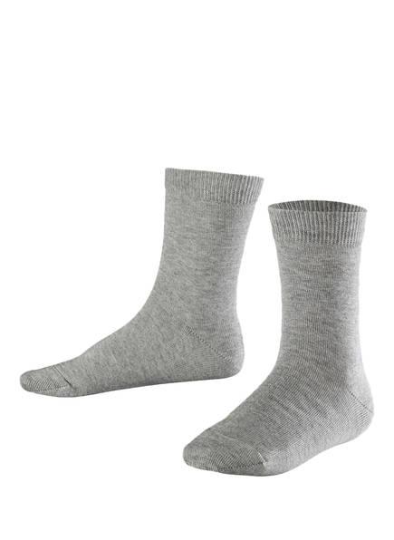 FALKE Socken  FAMILY, Farbe: 3400 LIGHT GREY (Bild 1)