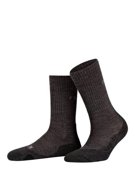 FALKE Trekking-Socken TK2, Farbe: 3150 SMOG (Bild 1)