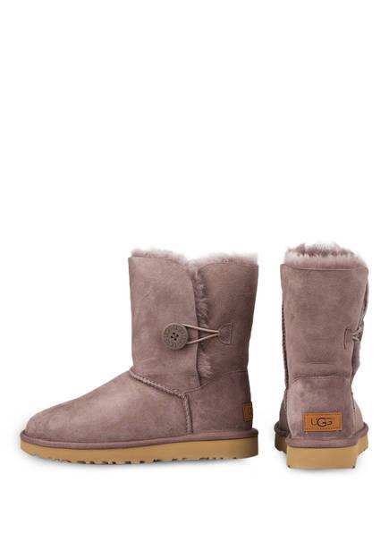 UGG Fell-Boots BAILEY BUTTON ll<br>          gef&uuml;ttert