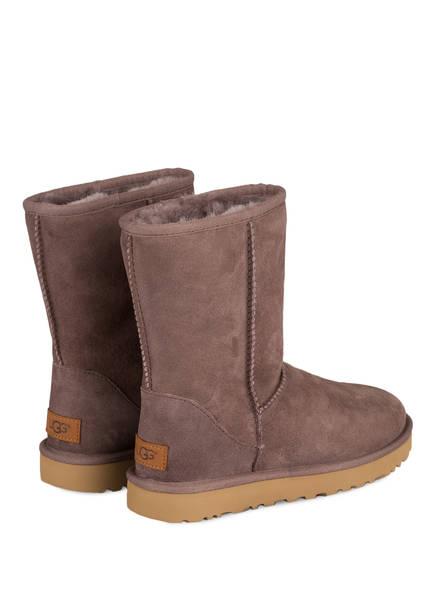 UGG Fell-Boots CLASSIC SHORT II<br>       gef&uuml;ttert