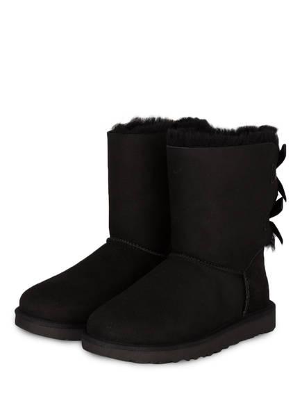 UGG Boots BAILEY BOW II, Farbe: BLACK (Bild 1)
