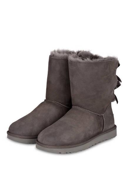 UGG Boots BAILEY BOW II, Farbe: GREY (Bild 1)