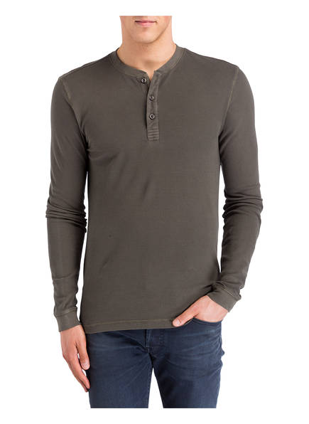 OLYMP Henley-Shirt Level Five body fit