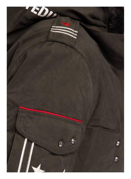 UNITED UNIFORMS Parka ALBERT Herausnehmbare Jacke mit Futter in Felloptik