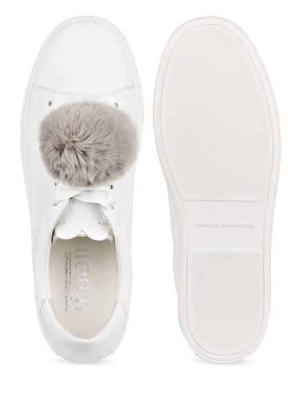 KENNEL &amp; SCHMENGER Sneaker BASKET mit Fell-Pompon<br>           IPHORIA X Kennel&amp;Schmenger