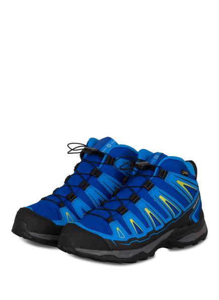 SALOMON Trekking-Schuhe X ULTRA MID GTX, Farbe: BLAU (Bild 1)