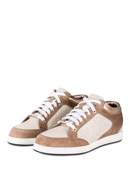 JIMMY CHOO Sneaker MIAMI, Farbe: BRAUN/ GOLD (Bild 1)