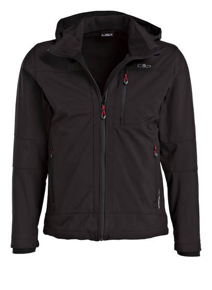 CMP Softshell-Jacke, Farbe: SCHWARZ (Bild 1)