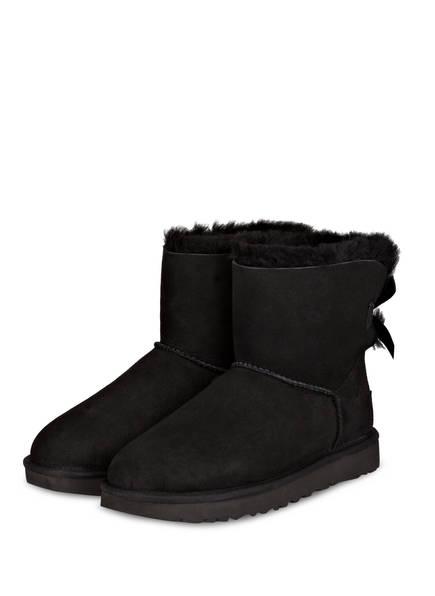 UGG Boots MINI BAILEY BOW II, Farbe: BLACK (Bild 1)