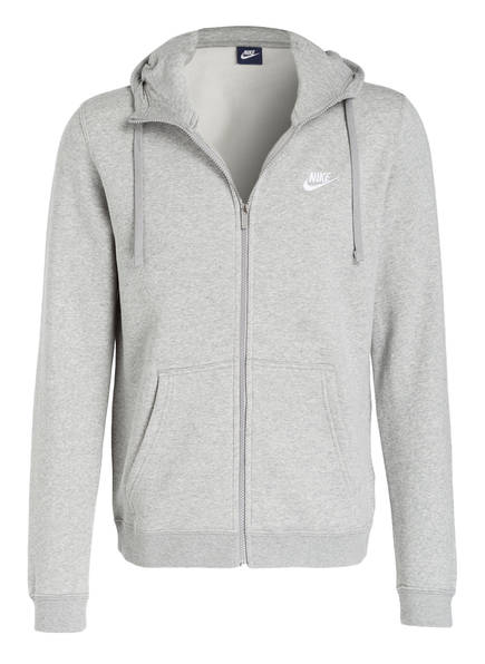 Nike Sweatjacke Tech Club Fleece Meliert Grau zfBq4S