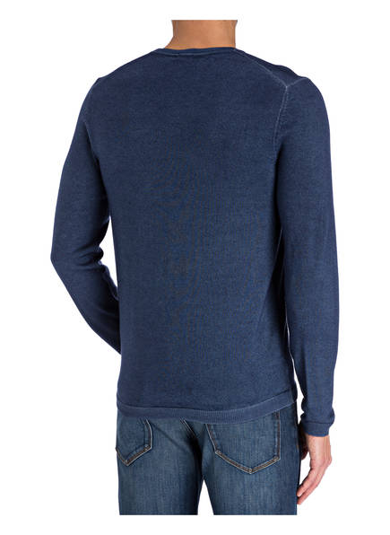 OLYMP Pullover Level Five Casual body fit aus Schurwolle