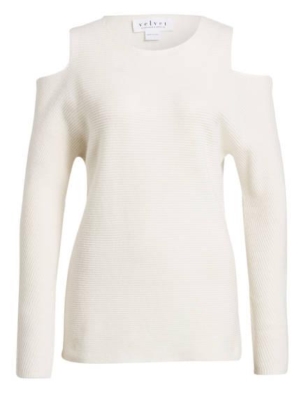 velvet Cashmere-Pullover