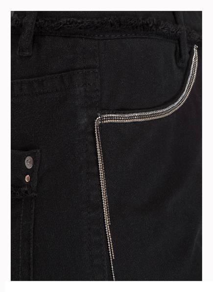 MARCCAIN 7/8-Jeans mit Perlenbesatz