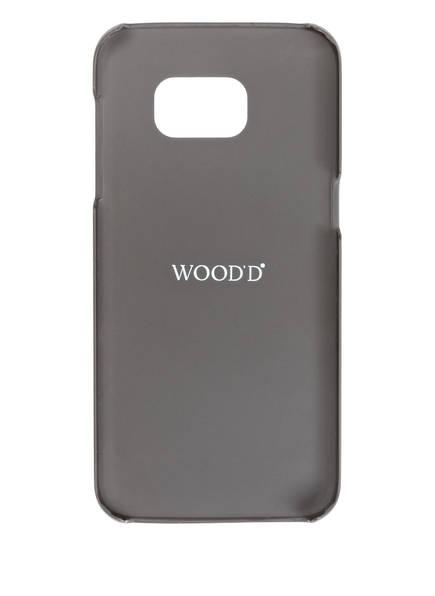 WOOD'D Smartphone-H&uuml;lle MAHOGANY HILLS<br>       f&uuml;r Samsung Galaxy S7 edge