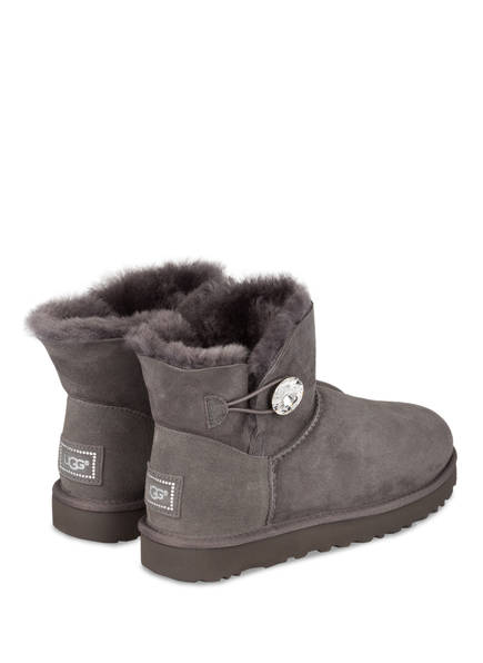 Bailey Button Boots Ugg Grau Bling Mini R0PqxU8