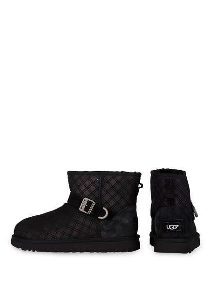 UGG Fell-Boots MARILU DOUBLE DIAMOND<br>          made with SWAROVSKI ELEMENTS