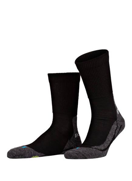 P.A.C. Trekking-Socken CLASSIC WOOL, Farbe: 200 BLACK (Bild 1)