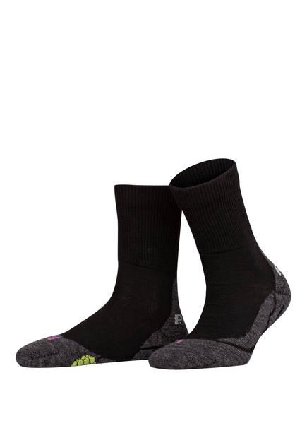 P.A.C. Trekking-Socken 6.0. CLASSIC WOOL , Farbe: 200 BLACK (Bild 1)