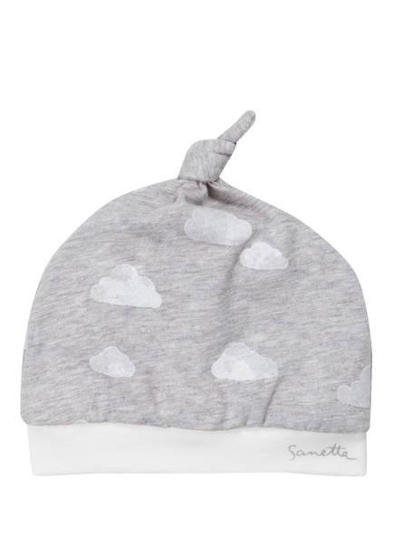 Sanetta FIFTYSEVEN Mütze, Farbe: GRAU/ WEISS (Bild 1)