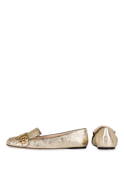 GUCCI Ballerinas GG MARMONT