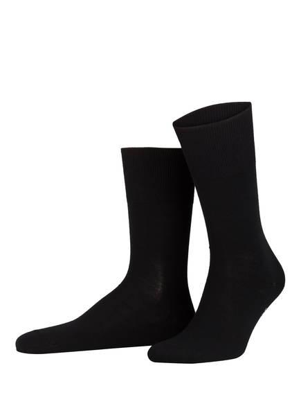 FALKE 3er-Pack Socken AIRPORT, Farbe: 3000 BLACK (Bild 1)