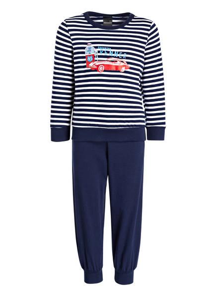 SCHIESSER Schlafanzug, Farbe: DUNKELBLAU GESTREIFT (Bild 1)