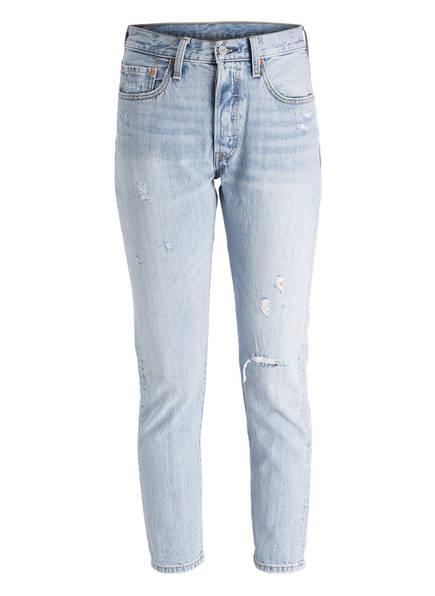 Levi's® Skinny-Jeans 501, Farbe: CLEAR MINDS BLUE (Bild 1)