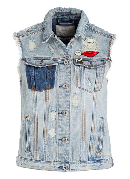 SCOTCH & SODA Jeansweste mit Patches