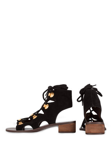 SEE BY CHLOÉ Cut-Out-Sandalen